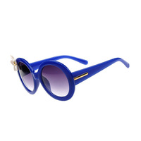 2014 New Arrival Upscale Name Brand Sunglasses,High Quality Lady Retro Gafas De Sol,Women Vintage Round Frame Lunettes G206
