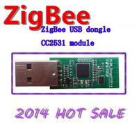 2014 HOT SALE ZigBee CC2531 USB dongle / protocol analysis / port / capture / wireless keyboard and mouse Freeshipping