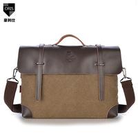 2014 men canvas bag man messenger bag shoulder diagonal portable England retro casual business man bag wave packet