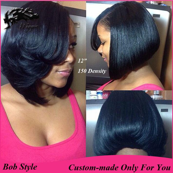 Black Sew Bob Hairstyles   Short Hairstyle 2013