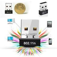 Free Shipping Mini USB WiFi 150Mbps Wireless Adapter 150M LAN Card 802.11n/g/b Network WAN adapter SV001328 b008