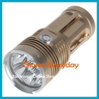 Hot ! SecurityIng 7000 Lumnes 7x CREE XM-L2 LED Super Bright & Waterproof LED Flashlight