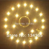 Retrofit Magnet LED Board replace CCFL ceiling light tube 2.4G Warm White + Cold White Dimmer 24W LED 95V-265V