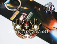 Movie Hero keychain Wholesale , metal jewelry , Iron Man Keychain , necklaces, GIFT
