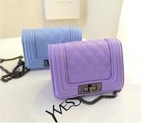 2014 new  women's summer handbag plaid vintage classic small chain bag shoulder bag messenger bag small bags  free shipping