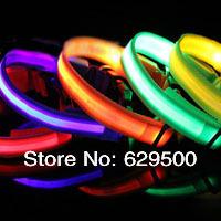 Wholesale 20pcs Pet Safety LED Dog Collar Night Flashing Collar pet accessories