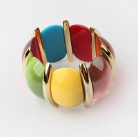 European and American fashion color trend all-match Stretch Bracelet!#1290