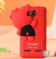 For Huawei 2 U8950 G600 Case cover U8950D C 8950D G600C T8950 G600T Good quality Soft silicone Case Brand cartoon phone  shell