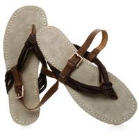 New 2014 summer fashion sandals men genuine leather casual flip flops sandals men Sandals, Free Shipping