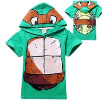 2014 fashion summer short sleeve cut cartoon design unisex toddler kids pajama set retail baby clothing set