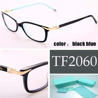 Full frame glasses frame women diamond Brand tf2060 eyeglasses women Computer Goggles Oculos de grau women TF2060 frame glasses
