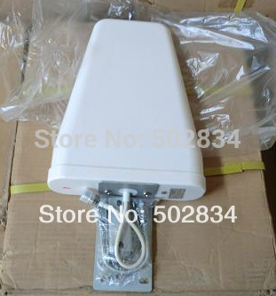 800-2500Mhz 10dBi 3G /GSM outdoor Antenna N Female adapter for Cell Phone Signal Booster Repeater Amplifier(China (Mainland))