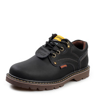 2014 top quality new arrival spring men's warm ankle boots men genuine leather men's  fashion boots rubber boots martin boots