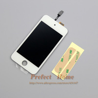 Free shipping For ipod touch 4 4th Gen 4G Replacement lcd Screen Digitizer Glass Assembly 5pcs/lot