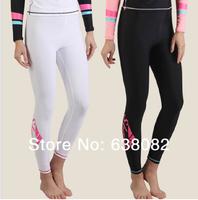 2014 Black/White Women submersible pant female diving pant swimwear snorkel trousers