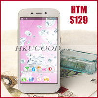 Original HTM S129 Mobile Phone MTK6582 Quad Core Smartphone Android Diamond Cell Phones 1GB RAM 8GB ROM 5.0 Inch HD IPS 8.0MP