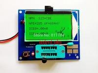 Free shipping,GM328 transistor tester \ ESR meter \ Cymometer \ square wave generator