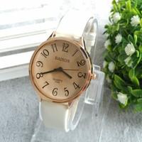 Free Shipping Women Fashion watch Bright Leather Strap Watches Big Digit Ladies Wrist Quartz Watch,women dress watches