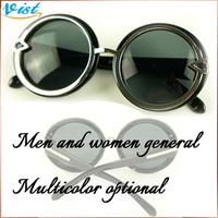 Hot Sale 2014 New Summer Women Sunglasses Blue Unisex   Sunglasses  Shade Girl  Uv400 Sunglass 2Pcs/5% Off
