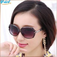 Free Shipping 2014 New Luxury Fashion Sunglasses Women Multi Colors Gradient Outdoor Sunglasses 2Pcs/5% Off