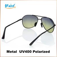 2014 New Summer Sunglasses Men Double Colors Alloy Gentleman Lentes Uv400 Retro Sunglasses 2Pcs/5% Off