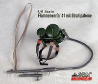 1/6 World war ii the German type 41 individual flamethrowers (1:6 metal model)