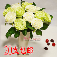 Artificial flowers artificial flowers silk flower home decoration table holding flowers