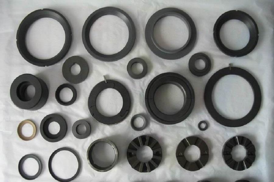 Hi-Tech anel carbono / Press?o anéis de veda??o / Junta flange / trocador de calor Junta / grafite anel de veda??o / anéis anti-extrus?o de grafite(China (Mainland))