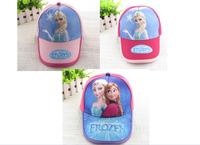 2014 Hot Sale retail Frozen Elsa Anna girl baseball cap hat hats 100% Cotton