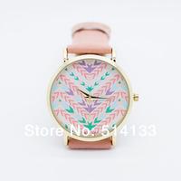 hot sale Aztec strap watch 100% brand new GENEVA WATCH no logo men women fashion watches,1pcs