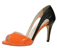 3812 New European American Candy Color Sandals Open Toe High Heel Prom Party Pumps Stiletto Wedding Shoes Size35-43