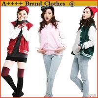 Free Shipping 2014 new arrival fashion sport suit women Large Sizes top jacket Jacket Baseball Coat Sweater Suit