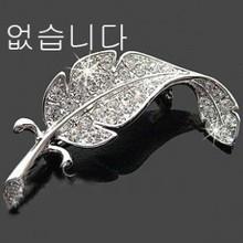 P4 Epaulette brooch epaulette diamond fashion brooch full rhinestone leaf brooch p1009