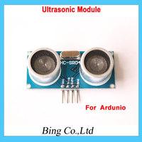 Free shipping 5 pcs Ultrasonic Module HC-SR04 Distance Measuring Transducer Sensor( for Arduino) HC SR04 HCSR04