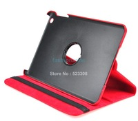 2014 New Popular Multi-Color Rotating Synthetic Leather Case Hard Case Screen Protector Stylus For iPad Mini 19925 #009