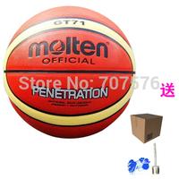 Wearproof Basketball gt71 Pu Material outdoor Match or training basketball ball wear-resistant 7# ball