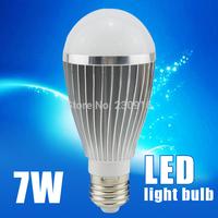 LED lampada E27 SMD5730 7W  AC100V-130V/200V-240V white/warm white High brightness energy saving lamp Free shipping
