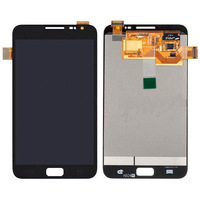 Original For Samsung Galaxy Note 1 i9220 N7000 Black LCD+Touch Screen Digitizer Assembly Complete free shipping(with logo)