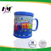 Custom Cheap  Cute Unique Promotional Gift  Plastic PVC Mug