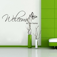 cheap butterfly wall sticker home decor Original Design Removable 3D Vinyl Wall Stickers on the wall  H8007 free shipping