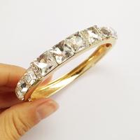 New style bangle & bracelet  for women vintage 2014 Crystal Cuff  Bracelet fashion for women Factory Price