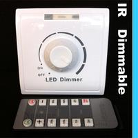 110V 120V 220V 240V 260V Led lights infrared Remote control Adjust light up and down dimmer switch hi-quanlity with wholesale