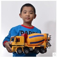 Cement tanker ultralarge mixer truck model toy dump-car zhatu car child truck model toy