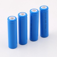 4 PCS Rechargeable Battery 18650 Li-ion 5000mAh 3.7V for LED Torch Flashlight