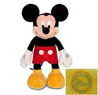 Original Mickey Mouse Toys 18'' 45CM Mickey Plush Toys Cute Stuffed Animals Minie Mickey Pelucia Kids Toys for Children
