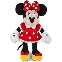 Free Shipping Original Minnie Mouse Toys Red Minnie Plush Toys 48cm Stuffed Animals Pelucia Minnie Mickey Toys for Children