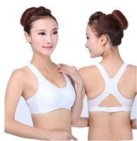 32 34 36 38  sports wireless cotton underwear vest design young girl bra set  thin sports bras running yugao bra