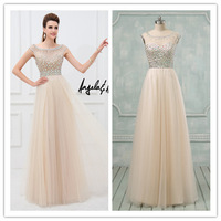 Actual Image Hot Sweetheart Neckline Tulle Red Mermaid Evening Dress(EVAA-41104)
