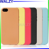 Fashion Candy Color TPU Gel Soft Cover Silicon Case For Iphone 5 5S