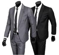 Male suits / work wear suit sets  / 2014 new British fashion casual han edition business men's blazers coat +suit pants suits